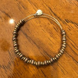 Alex and ani rafaelian gold bead bracelet.